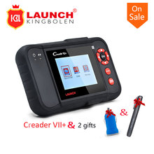2017 New Launch X431 CReader VII+ CAR Code Reader Launch CReader VII Plus Diagnostic Tool Update Online Multi-Language With gift(China)