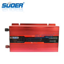 Suoer 2000W 12V 220V Inverter Solar Power Inverter With Digital Display(SDB-D2000A)