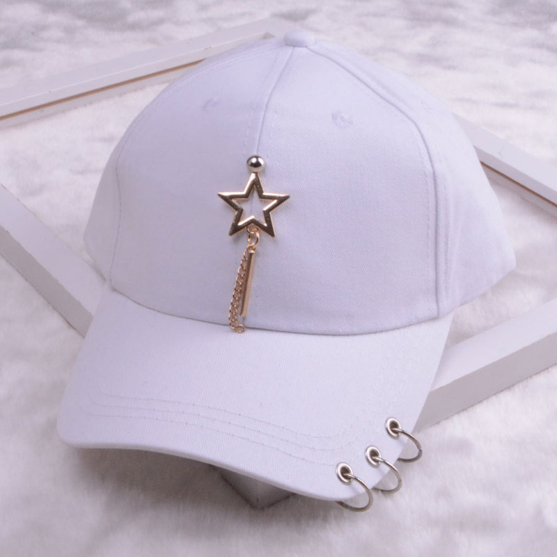 baseball cap with ring dad hats for women men baseball cap women white black baseball cap men dad hat (26)