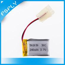 100pcs S107 S108 S109 S026 3.7V 240mAh 30C LiPo Battery For 6020 Syma S107 S108 S109 S026 RC Helicopter Quadcopter Parts