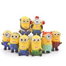 8PCS/Set Movie Character Action Figures Juguetes Doll Toys Micro landscape lps ornaments For Child or adult(China)