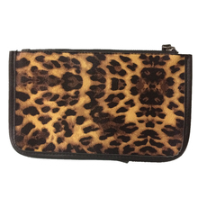 PU Leather Clutch Handbag Leopard Print Famous Brand Purse Pouch Easy Carry Hand Bag Cosmetics Organizer Bags Sac A Main Bolsas(China)