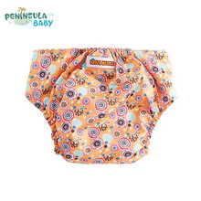 3Pcs Cartoon Baby Waterproof Underpants Girls Boys Panties Training Pant Diaper Reusable Kid Briefs Multilayer Underwear Nappies(China)