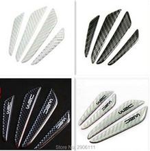 4PCS Car Sticker Door Protection Guards Stickers for DAIHATSU terios sirion yrv charade feroza mira rocky Carbon Fiber styling(China)