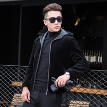 Fashion Wool Coat with hooded Dusen Klein Brand New arrivals  men's quality wool jacket winter coat thick outer clothing I1703M