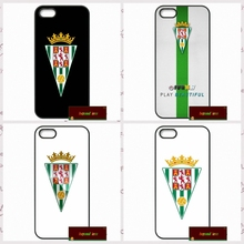 cordoba cf logo Spain Phone Cases Cover For iPhone 4 4S 5 5S 5C SE 6 6S 7 Plus 4.7 5.5  #SD01679