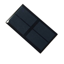 0.5W 1V Epoxy Solar Panel Polycrystalline Solar Cell Mini Solar Module DIY Solar System/Charger/Toys 100PCS/Lot Free Shipping