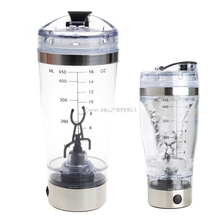 450ml BPA Protein Shaker Vortex Water Bottle Electric Automatic Mixer Smart Cup H06