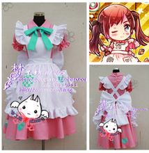 APH Axis Powers Hetalia 2P England (Famale) Cosplay Costume lolita punk party girls dress maid set