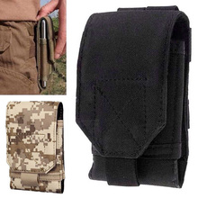 Outdoor Universal Phone Camouflage Bag <5.5inch Sport Pouch Belt Hook Loop Holster Waist Case For Doogee T5 Blackview BV6000