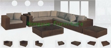 Rattan living room sectional sofa set designs(China)