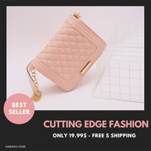Evening bag for low price, shoulder bags for women, quilted bags, handbags with long handle Fashion Pink Gray Ladies Bags