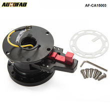 STEERING WHEEL BLACK QUICK RELEASE TILT SYSTEM Jdm RACE/RACING AF-CA15003(China)