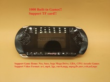Handheld Game Player & Video Player For Nes For Snes For Sega Mega Drive For GBA For CPS1 Arcade Games Support TF Card 1000 Game