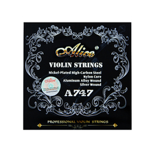 Acoustic Violin Strings ALICE Professional Violin Strings Set 4pcs/set Violin Accessories