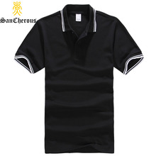 2017 High Quality 14 Colors Cotton Turn Down Collar Summer Men Polo Shirt Fashion Casual Polo Shirt Plus Size XS-3XL