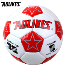 Mini 2 # Kids Small Soccer Football AOLIKES Brand Children Entertainment Supplies Wear Resistant Enlightenment Puzzle Toys(China)