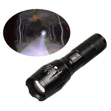 Promotion Bright 5 Modes LED Flashlight 3800 Lumen Zoomable CREE XML T6 LED 18650 Flashlight Focus Torch Zoom Lamp Light