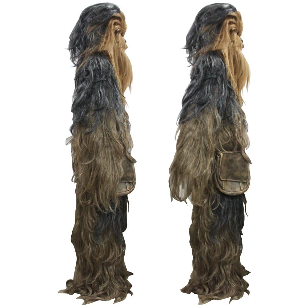 Star Wars Costumes 7 Series Cosplay Chewbacca Halloween Suit Costume Halloween Party Prop (9)