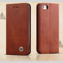 For iphone 4 mobile phone case Luxury Business Women/Men Card Slot Wallet Holster Leather Cellular Case Cover FOR iphone6  7PLUS