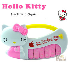 Special Hello Kitty Electronic Organ Multi-functional Piano Education Toy Musical Instrument Stall Hot Sale Toys Free Shipping(China)