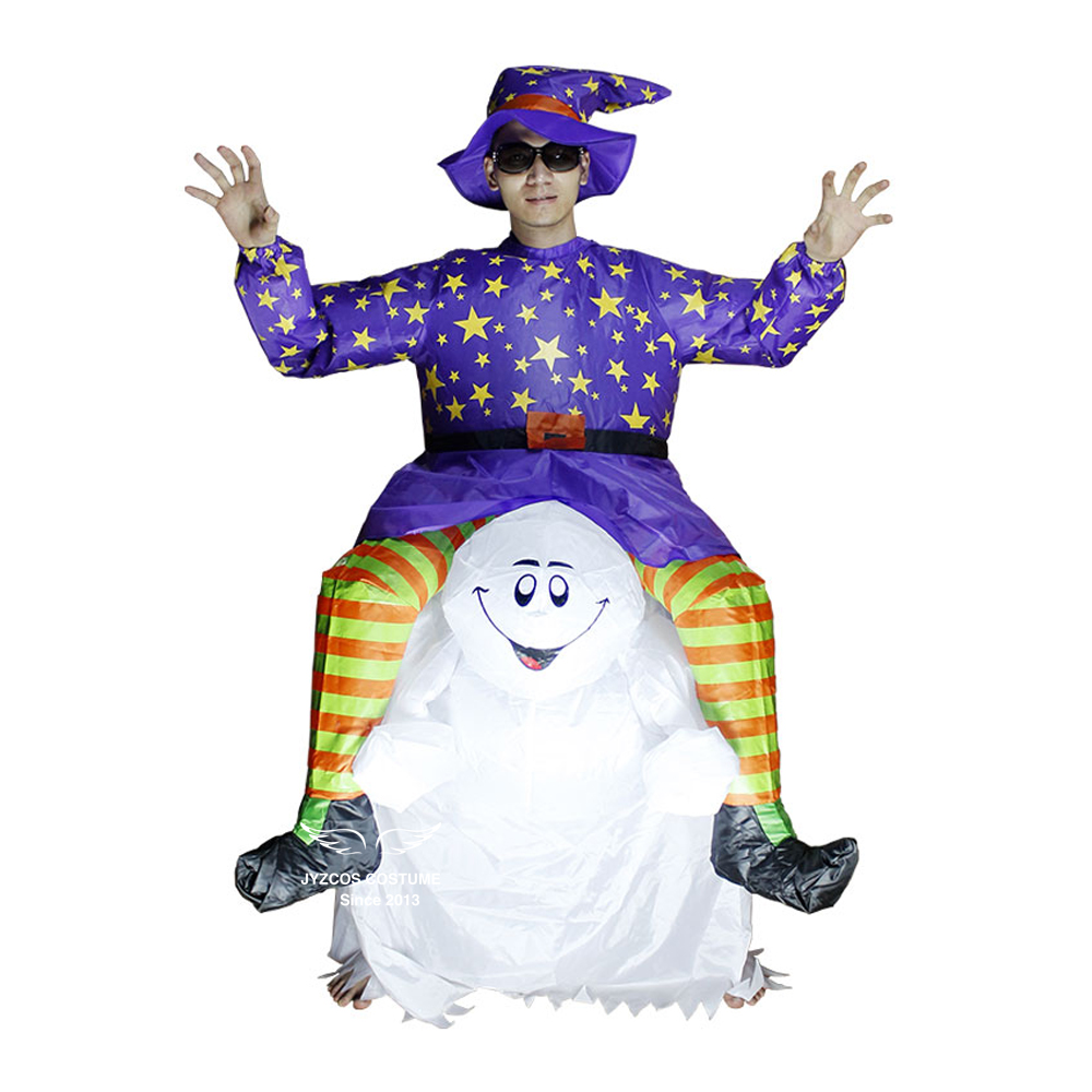 Inflatable Devil Ghost Costume Halloween Party Carnival Cosplay