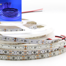 UV Black Light Led Strip 3528 SMD Flexible 60leds/m 120leds/m Bulb for night fishing Sterilization implicitly christmas Party
