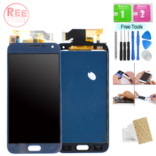 OLED E500 LCD Samsung Galaxy E5 E500 E500M Case E500F LCD Display Touch Screen Assembly Samsung E5 E500 SM-E500F Display