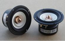 NEW MODEL Audio Labs Top end 4'' Full Range Speaker tweeter unit sets Aluminum Bullet 2 Layer Paper Cone for DIY home theater