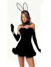 sexy bunny costumes women role-playing Rabbit girl sexy uniform 2016 new sexy erotic bunny costumes fancy dress