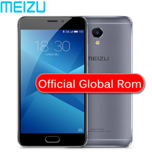 "Original Meizu M5 Note Global ROM 2.5D Glass 4G LTE Cell Phone Helio P10 Octa Core 5.5"" FHD 3GB 16GB 32GB ROM Fingerprint(China)"
