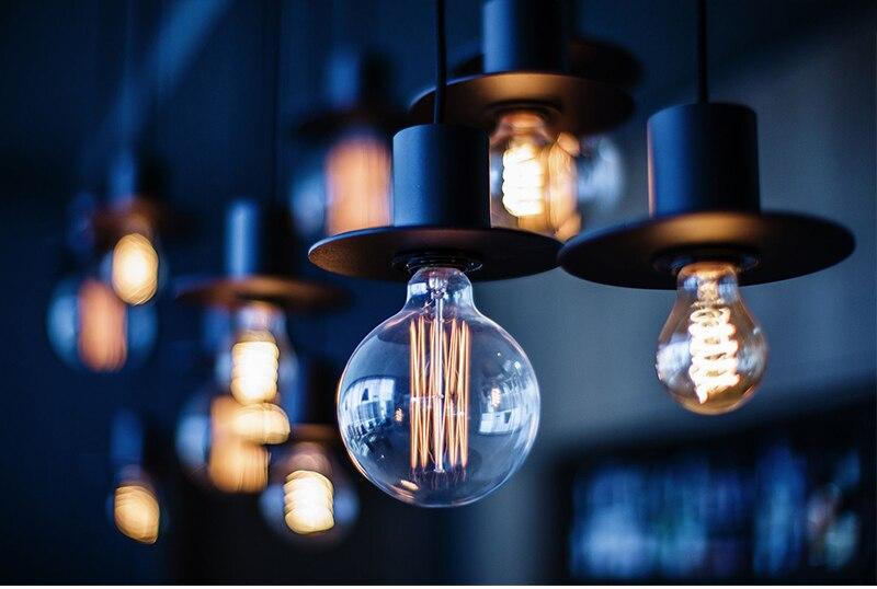 E27 Dimmable Edison Bulb Antique Vintage Lamp 40W AC220V Retro Edison Bulbs Light Decoration Incandescent Filament Bulb Ampoule