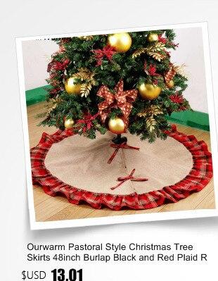 Ourwarm 18 DIY Felt Christmas Tree Pendant Drop Ornaments New Year Gift for Children Kids Door Wall Hanging Xmas Decoration 1
