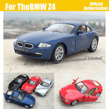 1:36 Scale Diecast Alloy Metal Sports Car Model For TheBMW Z4 M Coupe Collection Model Pull Back Toys Car