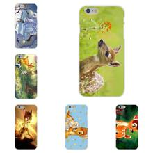 Soft TPU Silicon Cell Phone Case Cover For Samsung Galaxy A3 A5 A7 J1 J2 J3 J5 J7 2015 2016 2017 S8 Plus Animal Bambi Theme