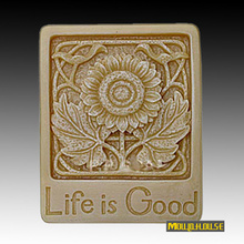 Handmade Soap Silicone Mold Chocolate Moulds Candle Molds Polymer Clay Craft For Cake Form Cooking Tools,life is good