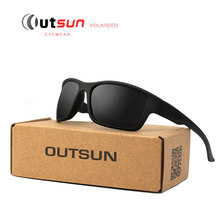 OUTSUN Out Door Sunglasses 2017 HOT Men Polarized Eyewear Brand Designer UV Protection Polaroid Lens Glasses Camouflage case