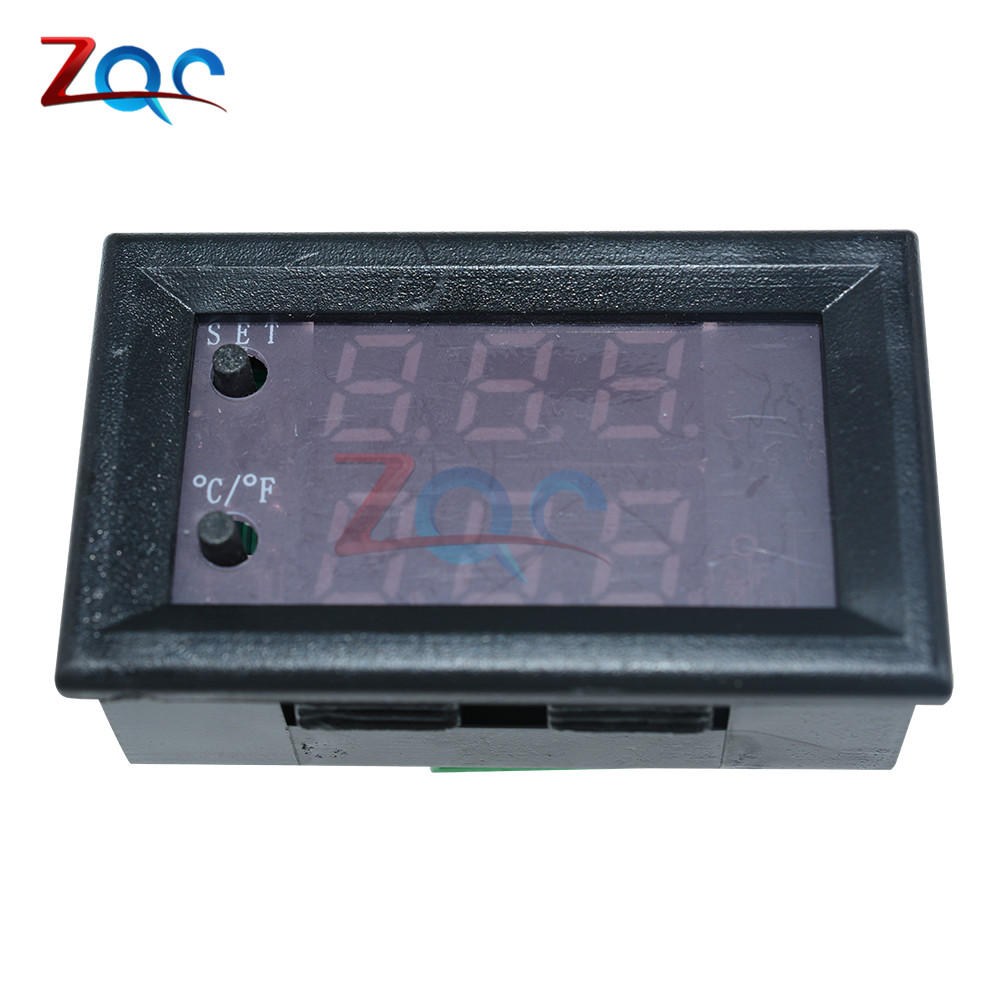 W1209WK W1209 WK W1219 DC 12V LED Digital Thermostat Temperature Control Thermometer Thermo Controller Switch Module +NTC Sensor 11