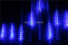 30cm Meteor Shower Rain Tubes Led Light Lamp 100-240V  LED falling star light/LED shooting star light