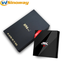 New H96 PRO+ TV Box Android 7.1 Amlogic S912 Octa Core 3GB/32GB 2.4G/5.8G WiFi KODI 17.1 Smart TV Box H96 PRo plus Media Player