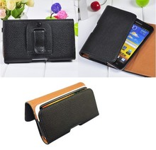 Leather Pouch Holster Belt Clip Case For Nokia N75 N85 N86 E75 E55 6720 Classic 6710 5630 8800 5310 5800 2230 2323 Lumia 610(China)