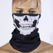 Novel Skull Bandana Outdoor Bike Magic Scarf Riding Hood Neck Face Mask Ski Outdoor Seamless Multi Scarf Mask D02501
