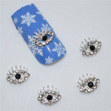 10psc New  Blue Santa Claus 3D Nail Art Decorations,Alloy Nail Charms,Nails Rhinestones  Nail Supplies #278