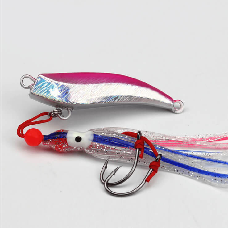 2pcs 40 60 80 100 150 200g Inchiku Micro Octo Jigs Fishing Lure Jigging Snapper