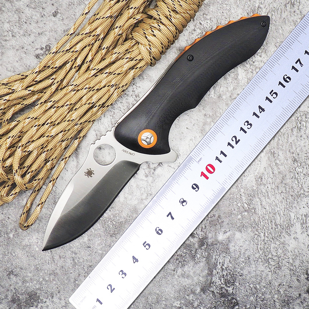 WLT C187 Tactical Survival Folding Knife With Rubicon CPM-S30V G10 Handle Ball Bearing Flipper Knives Camping EDC Outdoor Tools<br><br>Aliexpress
