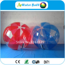 4pcs+1pump 2m PVC water ball,water walking ball,mikasa water polo ball for park(China)