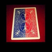 Recommend! 1 deck 52 Shades of Red Shin Lim - Card Magic Trick,Gimmick,Close Up Magic,Top Quality,Fast Shipping(China)