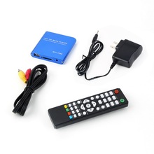 One 1080P HDD Muti-function Media RMV MP4 AVI FLV Player MKV/H.264/RMVB Full HD With HOST USB Card Reader  Promotion