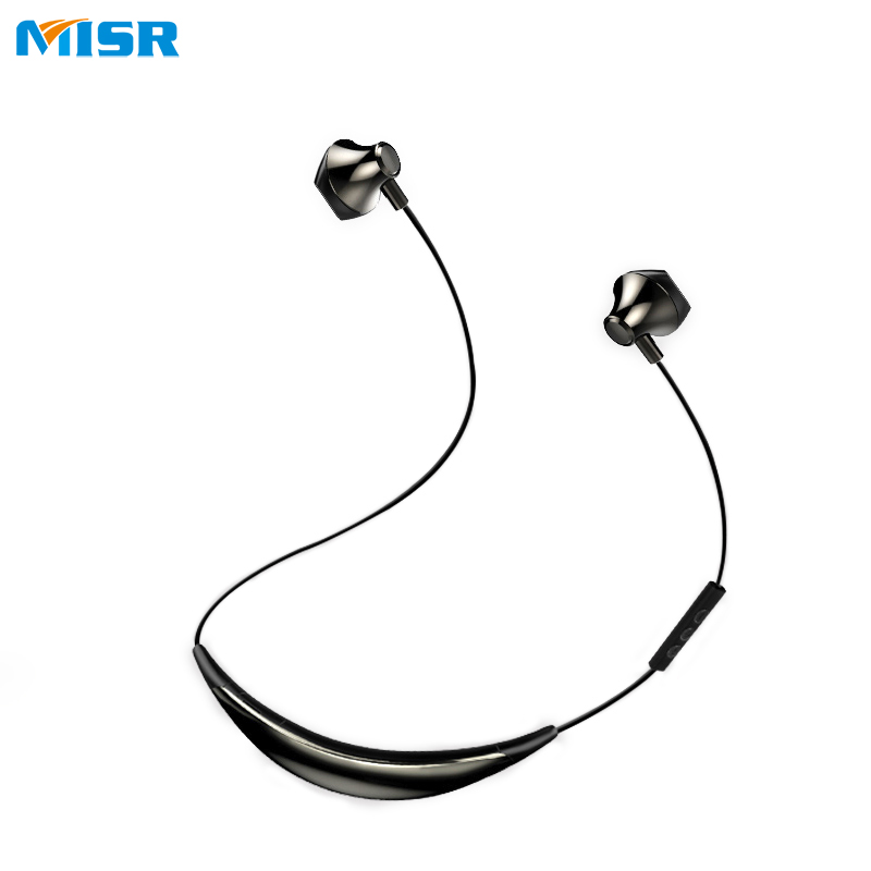 MISR N9 Wireless Headphones with Mic Microphone for Phone Bluetooth Neckband Sport Earphone Stereo Headset Magnetic<br>