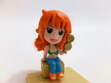 "Nami (Orange) ~2"" Figure: Super One Piece Styling Figure Series"